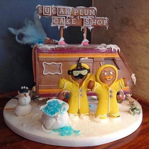 【画像】お菓子でできた家やジオラマが凄い!!の画像(4枚目)