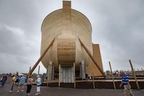 実物大の『ノアの箱舟』の画像(10枚目)