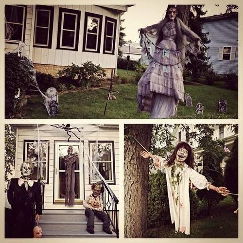 【画像】ちょっと次元の違う怖すぎるハロウィンの装飾の数々!!の画像(13枚目)