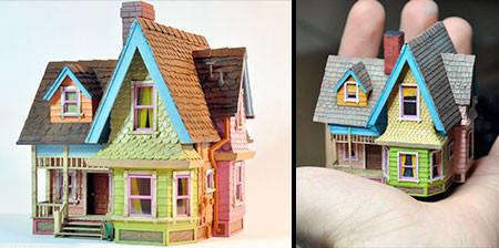 家の形の指輪のケースの画像(1枚目)