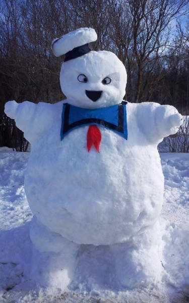 【画像】海外の雪祭りとか色々な雪像がやっぱ海外って感じで面白いwwwの画像(8枚目)
