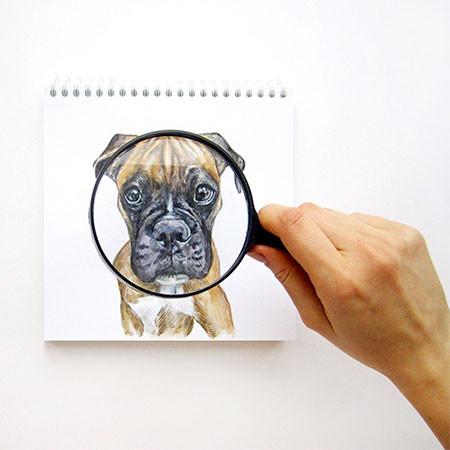 犬の絵が小道具1つで生きてるように見える!!の画像(13枚目)