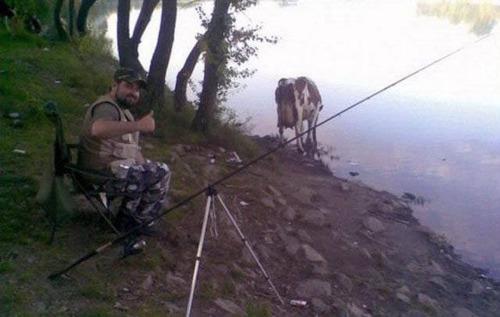 カオスなところで釣りをしている人達の画像(42枚目)