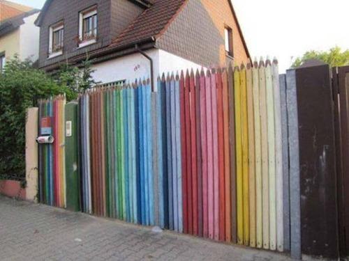 面白いちょっと魅力的な塀や柵をしている家の画像の数々!!の画像(22枚目)