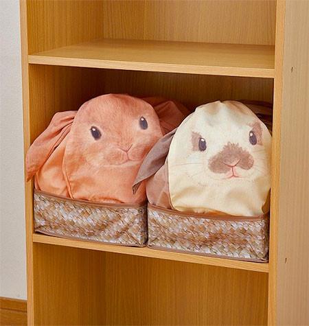 ウサギになる風呂敷の画像(5枚目)