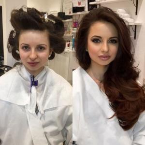 女性の化粧前、化粧後の画像の数々_17