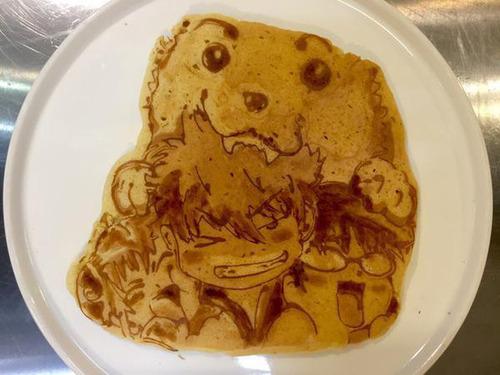 もはや芸術!!パンケーキの焼き加減でアニメのキャラクターを再現!!の画像(4枚目)