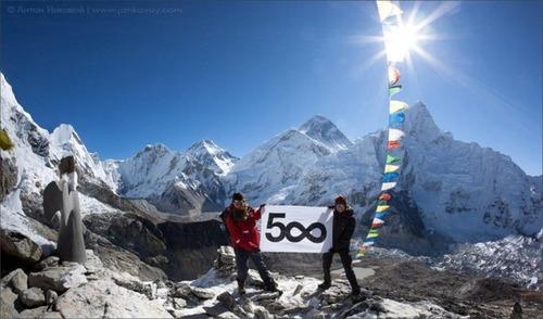 【画像】標高8850m!エベレストの幻想的な風景!!の画像(3枚目)