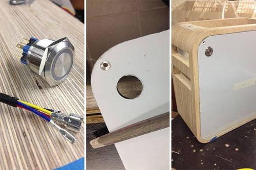 【画像】木製のパソコンケースを自作!カッコよくて落ち着いた木製パソコン!!の画像(9枚目)
