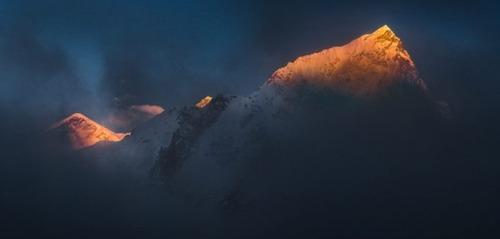 【画像】標高8850m!エベレストの幻想的な風景!!の画像(23枚目)