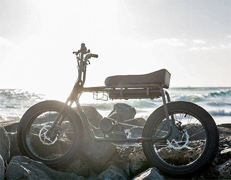【画像】気分はアウトロー!バイクのように乗れる電動自転車!!の画像(9枚目)