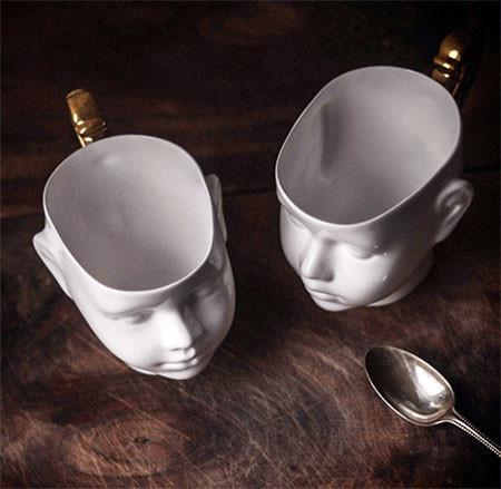 【画像】ちょっとカオスな人の頭のコーヒーカップ…の画像(4枚目)