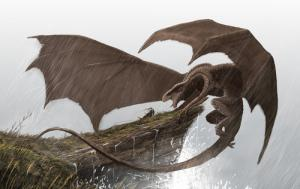 幻想的でドキドキする超巨大生物の壁紙!の画像(25枚目)