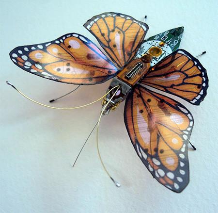 今にも動き出しそう!ちょっとリアルな電子部品でできた昆虫!!の画像(8枚目)