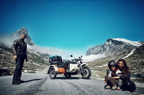 【画像】1台のバイクで家族3人が41カ国を4ヶ月で制覇!!の画像(11枚目)