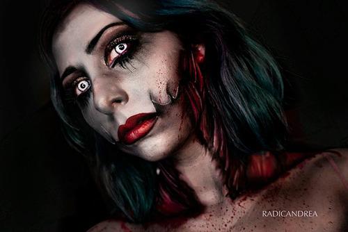 女性のメイクが怖すぎる!化粧のみで怖すぎる女性のメイクの画像の数々!!の画像(10枚目)