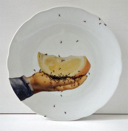 【画像】蟻が這い回っている柄の食器が悪趣味すぎるwwwの画像(7枚目)