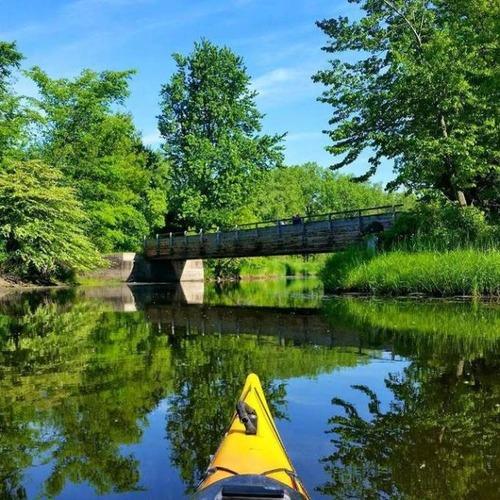カヤック(カヌー)に乗る理由がわかる川沿いの風景の画像の数々!!の画像(4枚目)