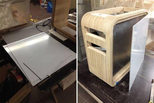 【画像】木製のパソコンケースを自作!カッコよくて落ち着いた木製パソコン!!の画像(5枚目)