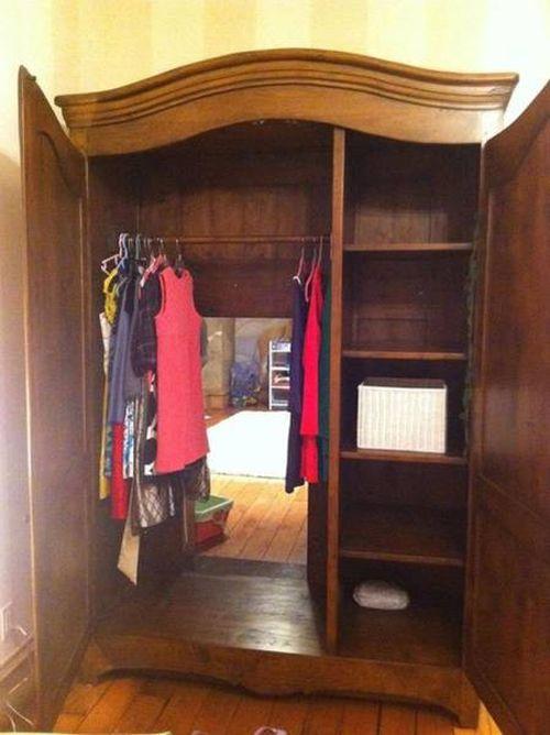 隠し部屋の入り口の画像(2枚目)
