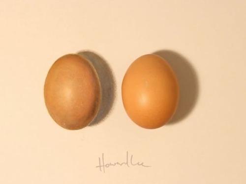 どっちが本物?ハイパーリアリズムの絵画と実物の比較画像の数々!!の画像(7枚目)