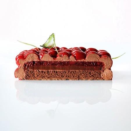 幾何学模様の不思議なケーキ11