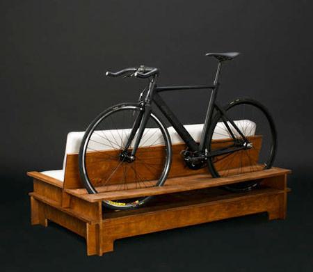 ちょっとした工夫で自転車の収納がカッコよくなる!の画像(4枚目)