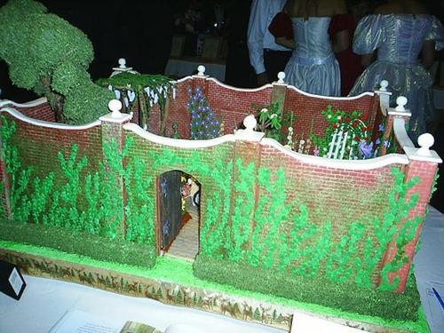 【画像】お菓子でできた家やジオラマが凄い!!の画像(11枚目)