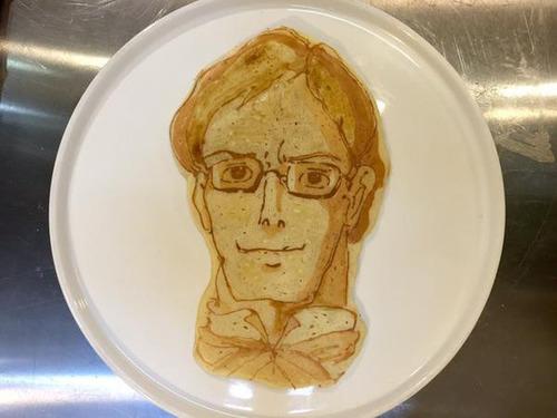 もはや芸術!!パンケーキの焼き加減でアニメのキャラクターを再現!!の画像(17枚目)