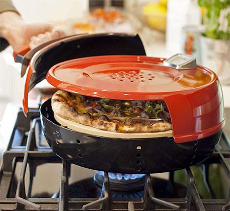 カマド焼きのピザが自宅で簡単に作れる!ピザオーブンが魅力的!!の画像(2枚目)