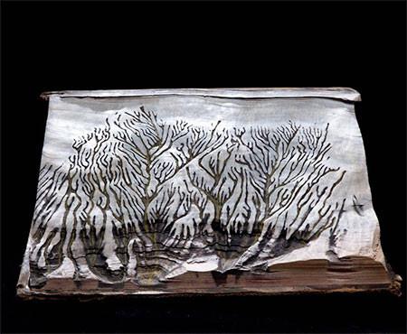 【画像】分厚い本が絶景になる!本を使ったアートが凄い!!の画像(9枚目)