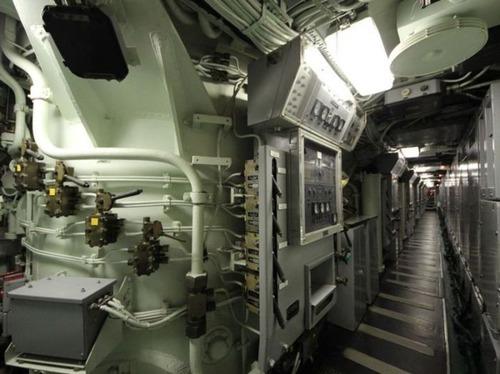 原子力潜水艦の内部の画像(14枚目)