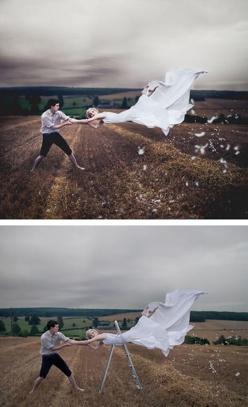 芸術的な写真と撮影風景のギャップの画像(11枚目)
