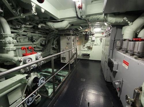 原子力潜水艦の内部の画像(12枚目)