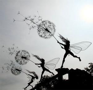 【画像】生きてるみたい!針金で再現された妖精が凄い!!の画像(7枚目)