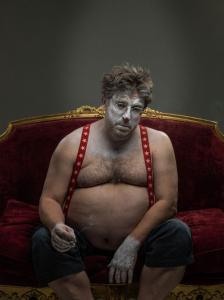 なんの癒しにもならない!超怖いピエロのコスプレ画像の数々の画像(11枚目)