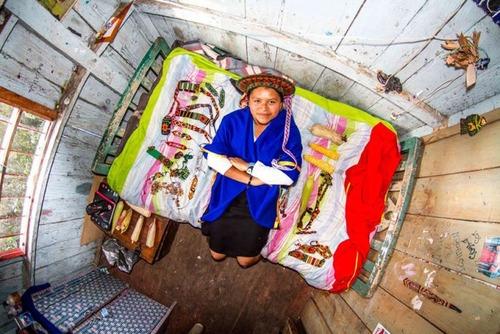 世界各国の人達のベッドルームの画像(20枚目)