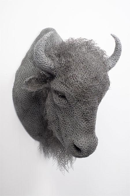 金網で作られた動物の画像(4枚目)