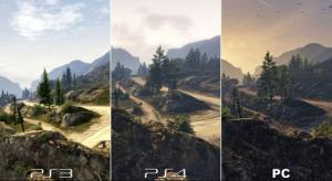 PS4とパソコンのグラフィックを同じゲームで比較した結果!!の画像(2枚目)