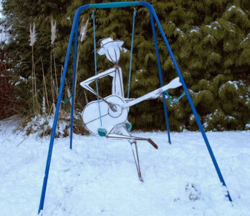 【画像】海外の雪祭りとか色々な雪像がやっぱ海外って感じで面白いwwwの画像(15枚目)