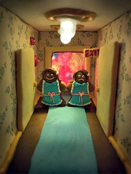 【画像】内装まで作りこまれたお菓子の家が凄い!!の画像(5枚目)