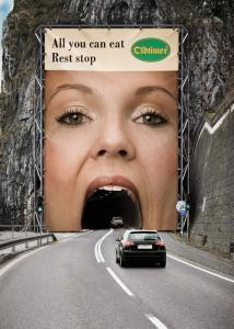 一度見たら忘れられない面白い広告の画像の数々の画像(1枚目)