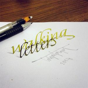ノートにペンだけで描いた3Dの文字が凄い!!の画像(8枚目)