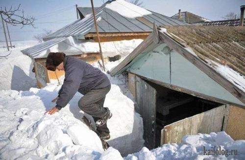 海外の凄まじい冬の寒さの画像(9枚目)