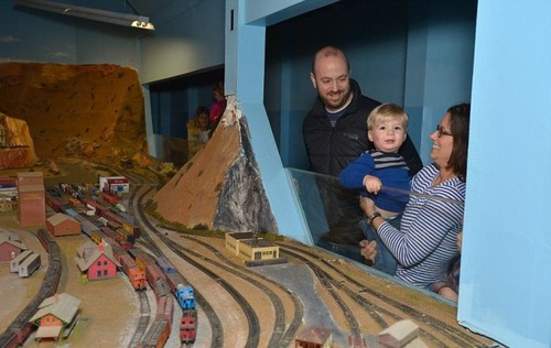 電車は小さいのに世界一大きな電車のジオラマが凄い!!の画像(10枚目)