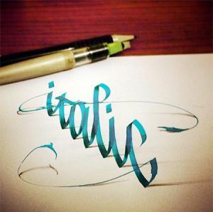 ノートにペンだけで描いた3Dの文字が凄い!!の画像(10枚目)