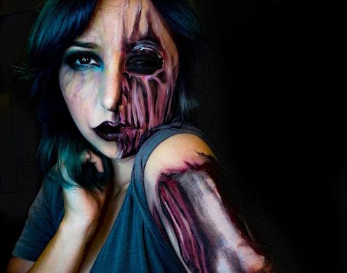 女性のメイクが怖すぎる!化粧のみで怖すぎる女性のメイクの画像の数々!!の画像(6枚目)