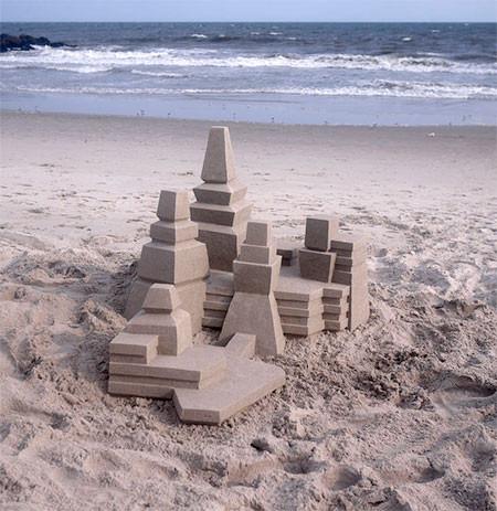 砂で作られた近代的なお城のアートの画像の数々!!の画像(7枚目)