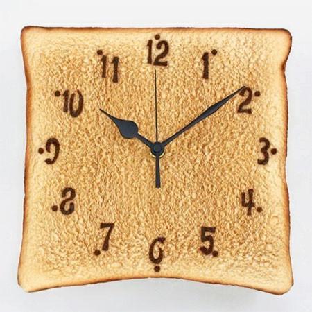 食パンの時計の画像(6枚目)