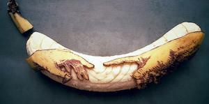 【画像】バナナに絵を描くアートがさらに進化しているwwの画像(1枚目)
